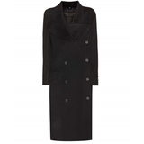 BURBERRY Asymmetric wool coat